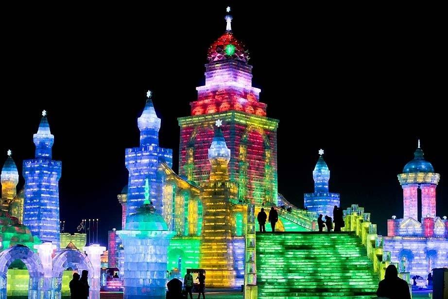 Çin'de Buz ve Kar Festivali 27