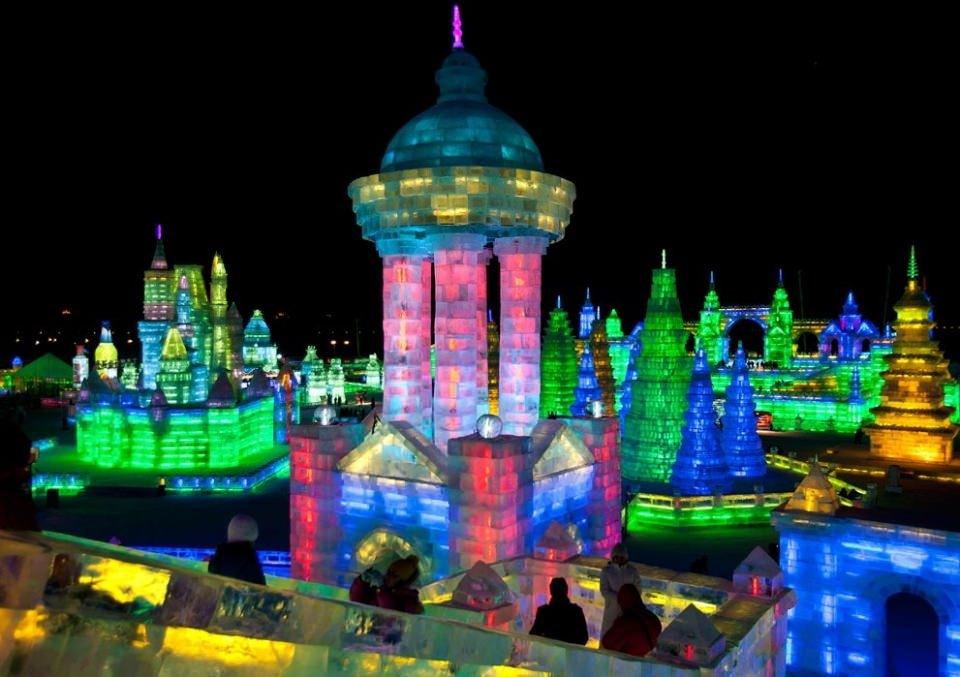 Çin'de Buz ve Kar Festivali 29