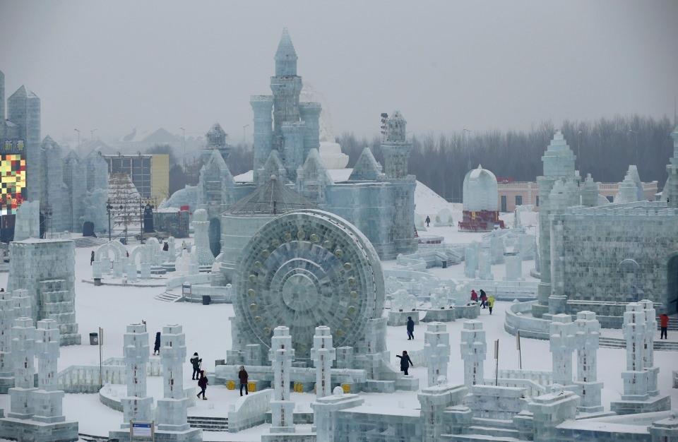 Çin'de Buz ve Kar Festivali 3