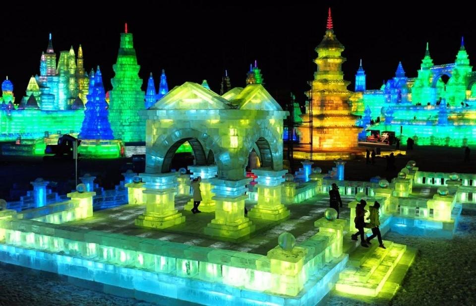 Çin'de Buz ve Kar Festivali 31
