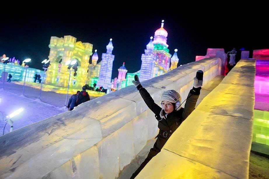 Çin'de Buz ve Kar Festivali 33