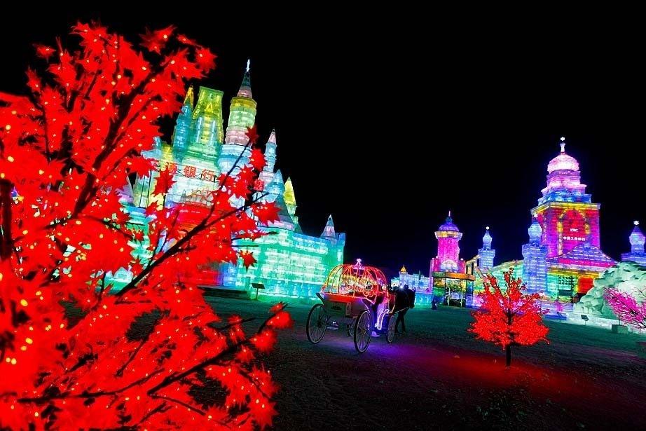 Çin'de Buz ve Kar Festivali 34