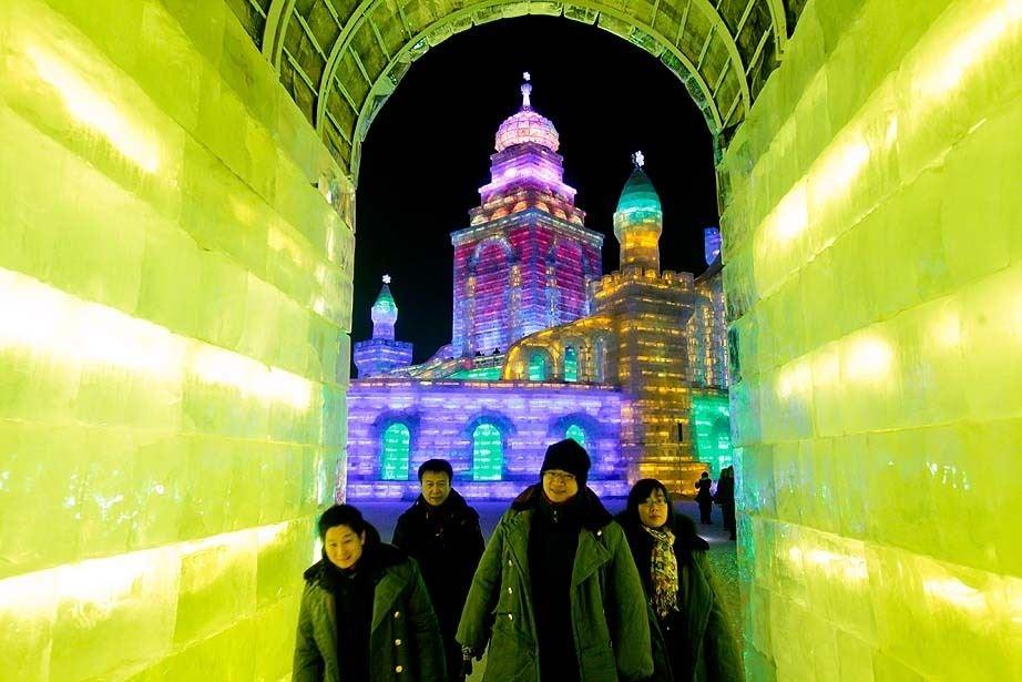 Çin'de Buz ve Kar Festivali 35