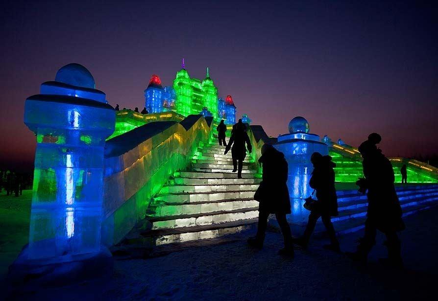 Çin'de Buz ve Kar Festivali 36