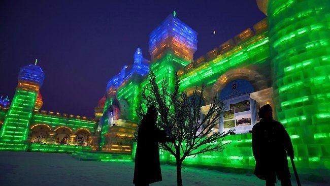 Çin'de Buz ve Kar Festivali 39