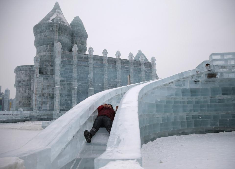 Çin'de Buz ve Kar Festivali 4