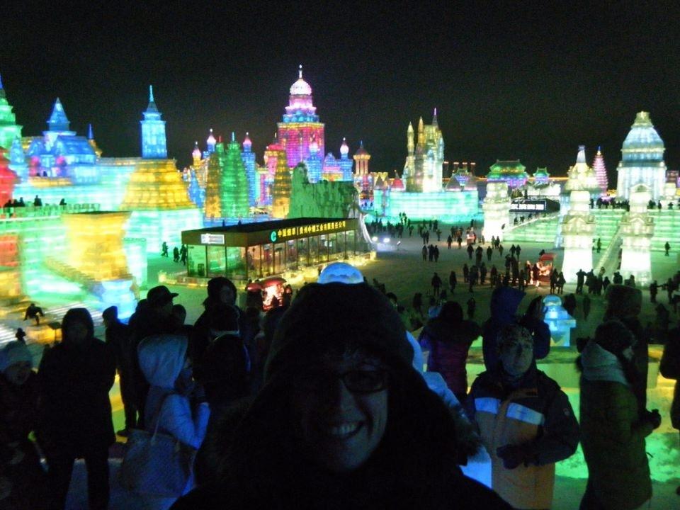 Çin'de Buz ve Kar Festivali 40