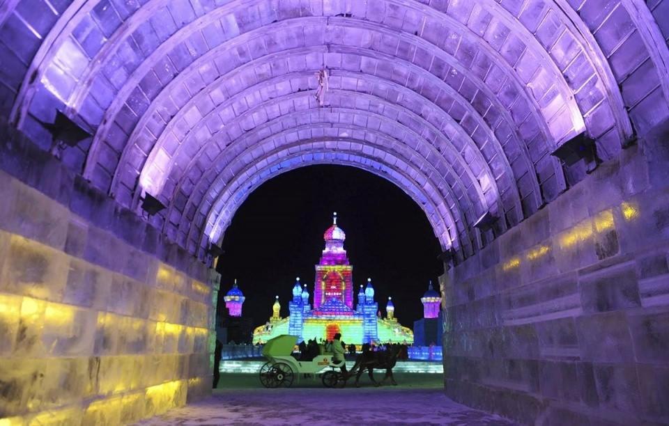 Çin'de Buz ve Kar Festivali 42