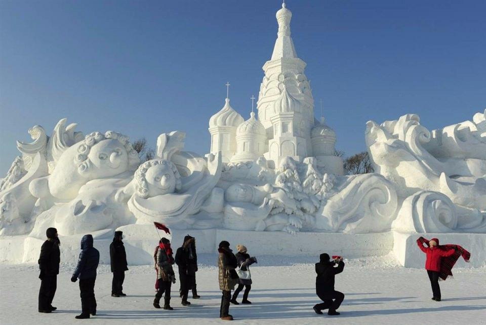 Çin'de Buz ve Kar Festivali 43