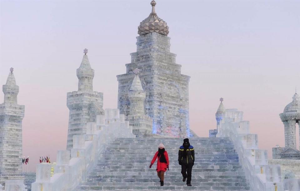 Çin'de Buz ve Kar Festivali 44