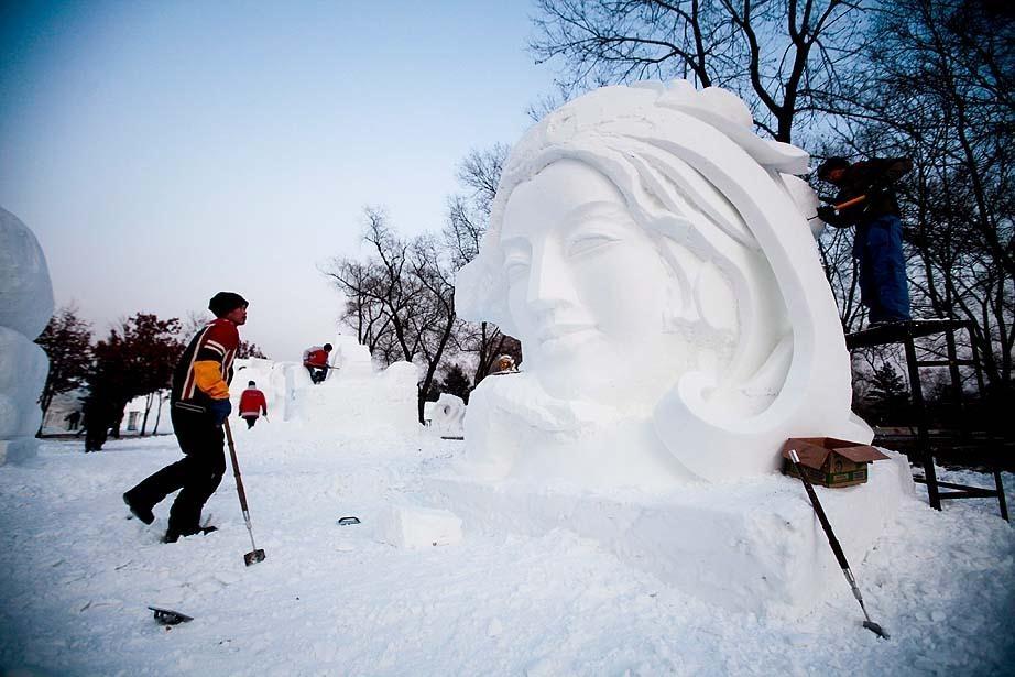 Çin'de Buz ve Kar Festivali 46