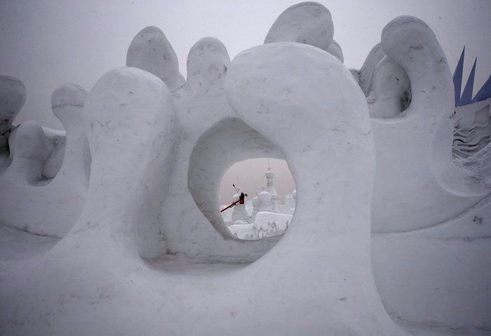 Çin'de Buz ve Kar Festivali 5