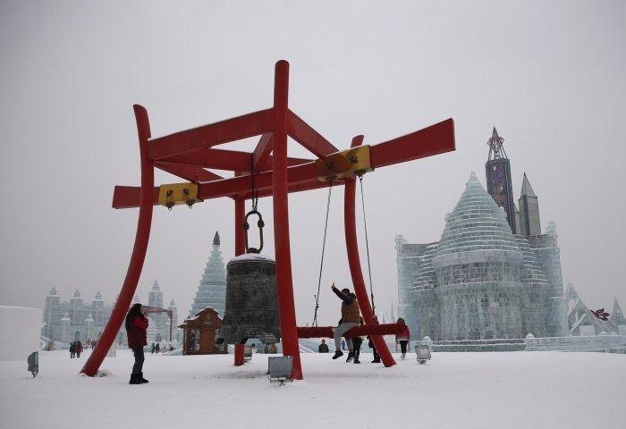 Çin'de Buz ve Kar Festivali 6