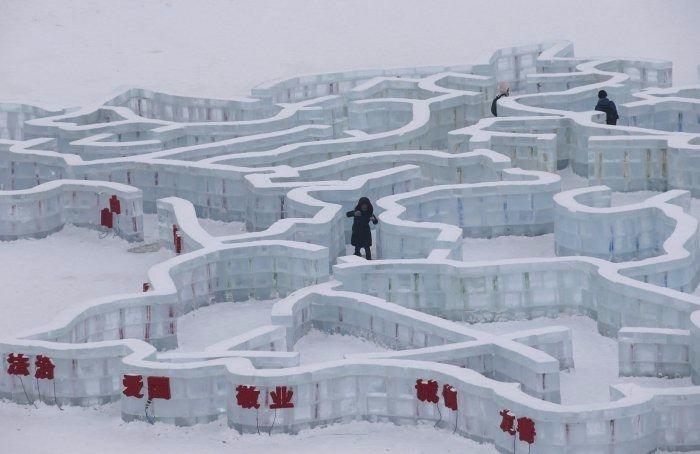 Çin'de Buz ve Kar Festivali 7
