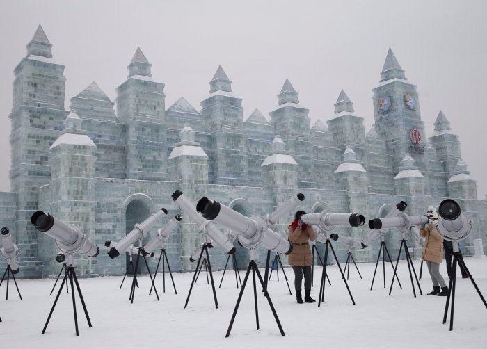 Çin'de Buz ve Kar Festivali 8