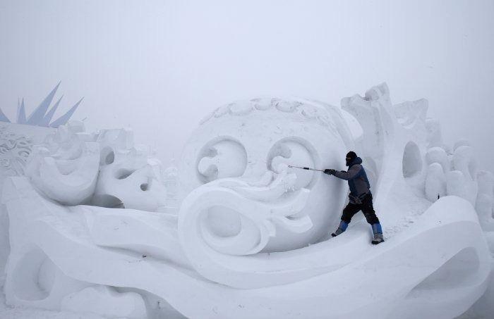 Çin'de Buz ve Kar Festivali 9