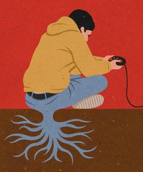 İnsanlık teknolojinin içinde böyle kayboluyor 10