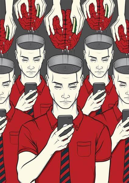 İnsanlık teknolojinin içinde böyle kayboluyor 12