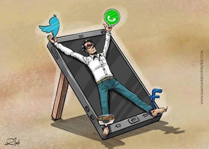 İnsanlık teknolojinin içinde böyle kayboluyor 2