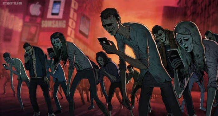 İnsanlık teknolojinin içinde böyle kayboluyor 20