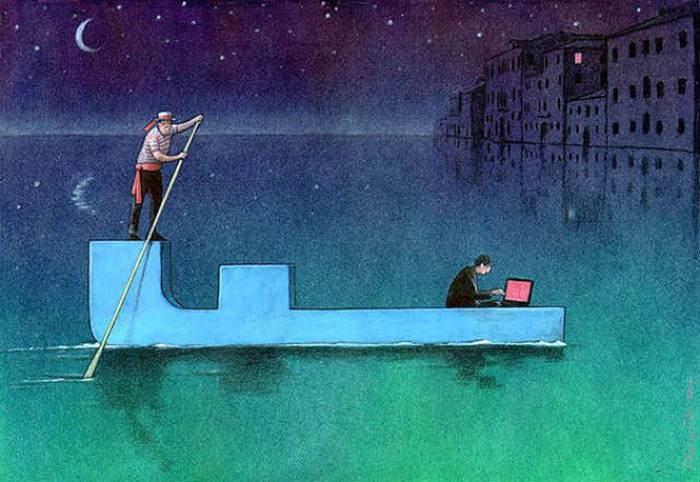 İnsanlık teknolojinin içinde böyle kayboluyor 24