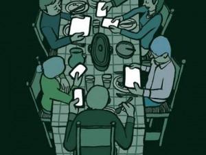 İnsanlık teknolojinin içinde böyle kayboluyor