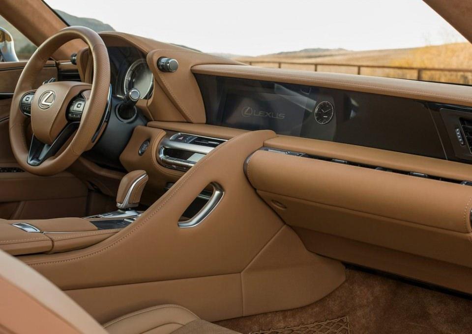 BMW 6'ya yeni rakip: Lexus LC 500 2017 16