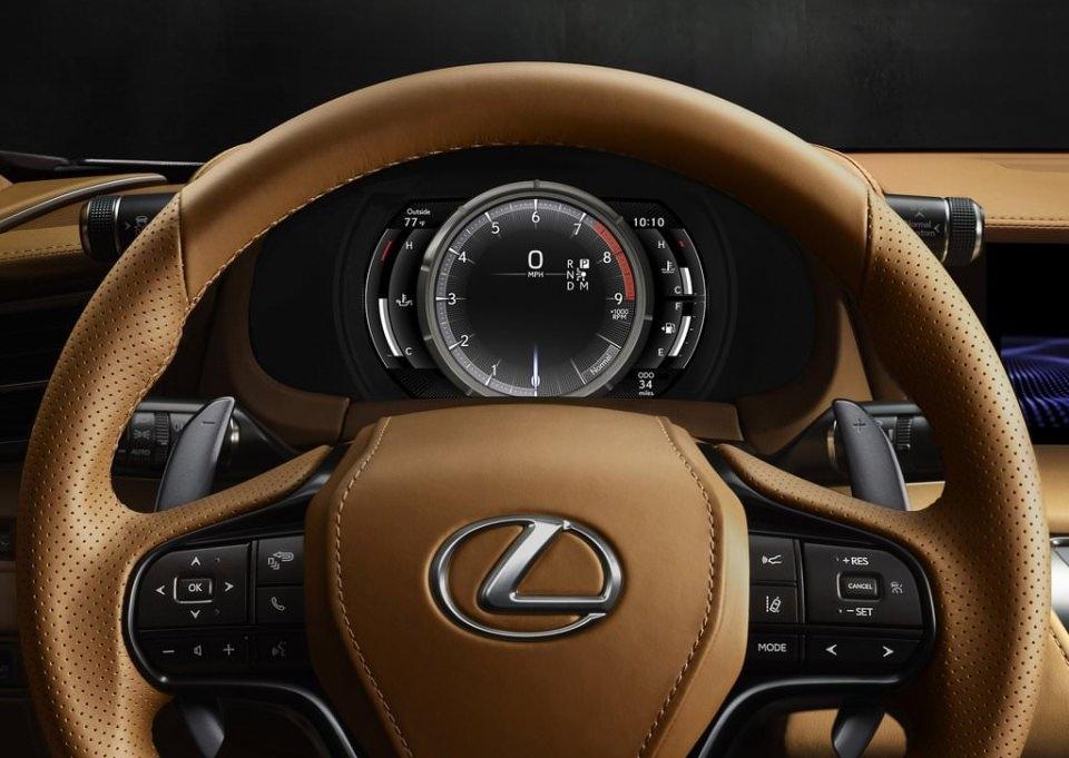 BMW 6'ya yeni rakip: Lexus LC 500 2017 19
