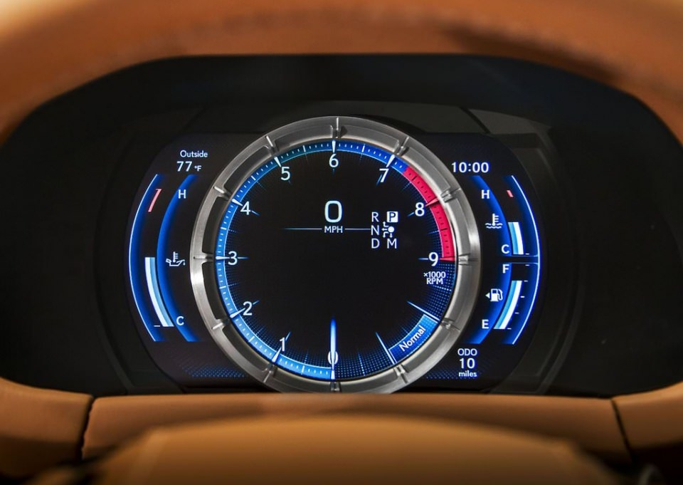 BMW 6'ya yeni rakip: Lexus LC 500 2017 20