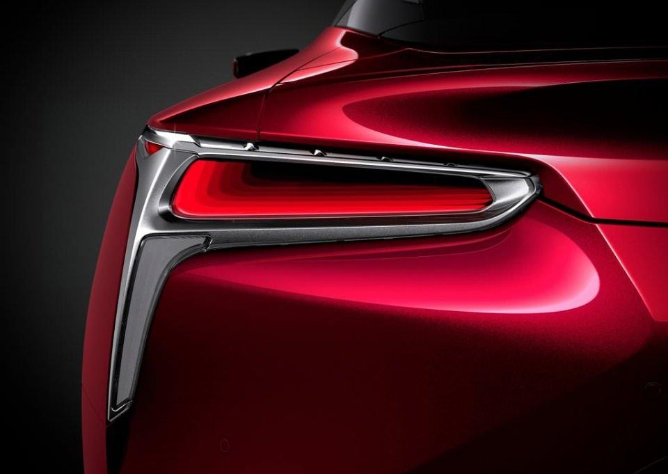 BMW 6'ya yeni rakip: Lexus LC 500 2017 22