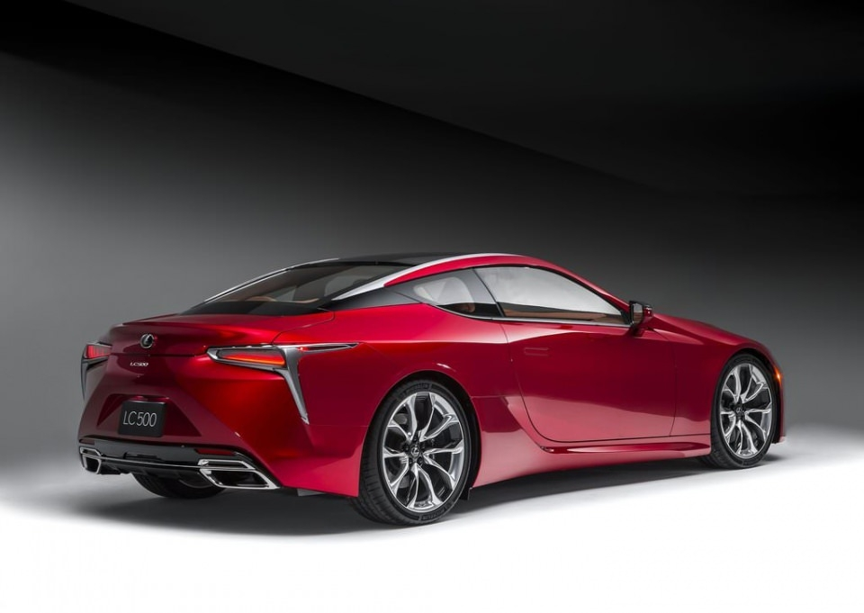 BMW 6'ya yeni rakip: Lexus LC 500 2017 35