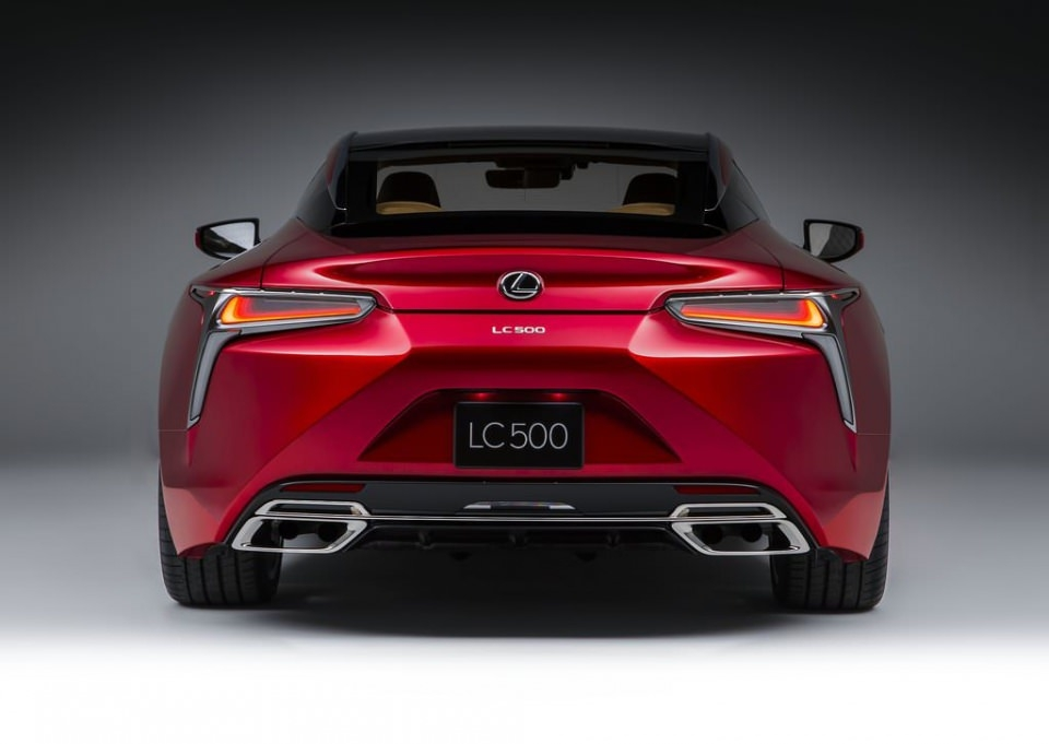 BMW 6'ya yeni rakip: Lexus LC 500 2017 40