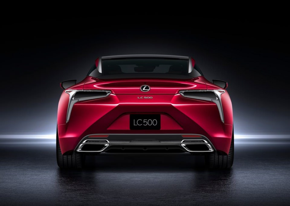 BMW 6'ya yeni rakip: Lexus LC 500 2017 56