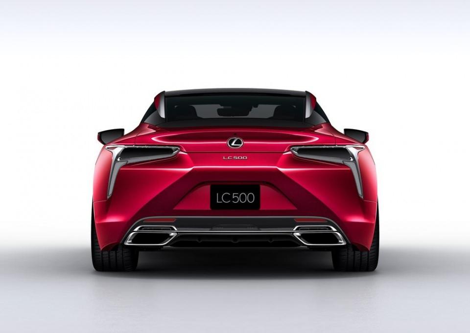 BMW 6'ya yeni rakip: Lexus LC 500 2017 61