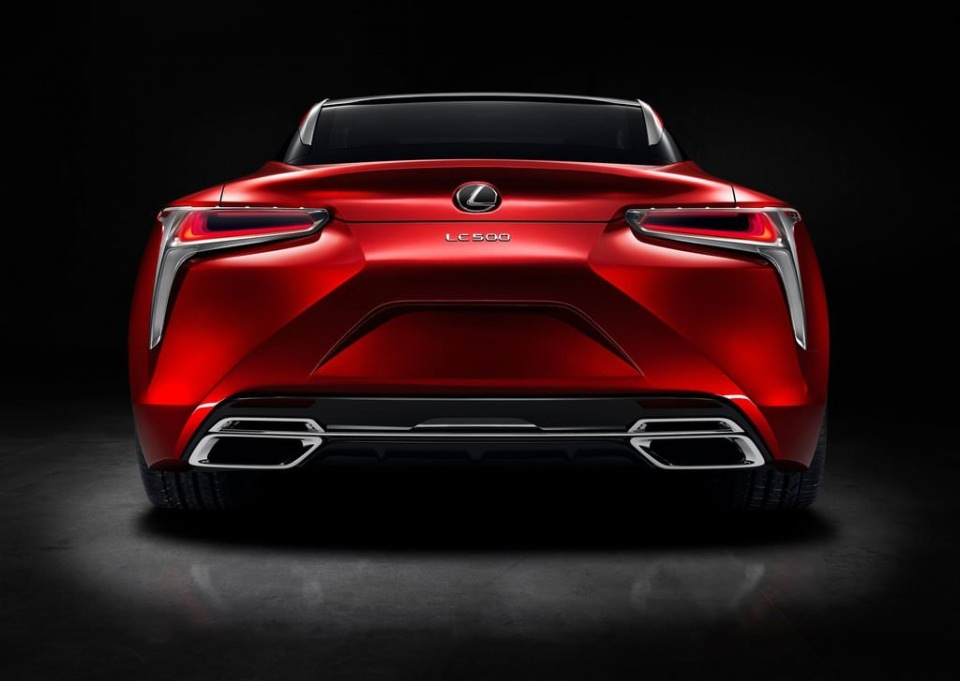 BMW 6'ya yeni rakip: Lexus LC 500 2017 9