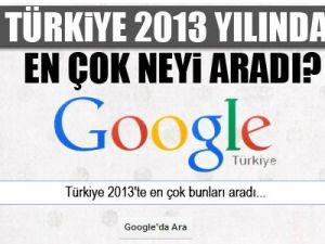 Türkiye 2013'te en çok neyi aradı?