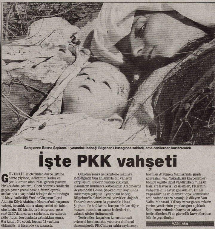 PKK'nın katlettiği bebekler 2