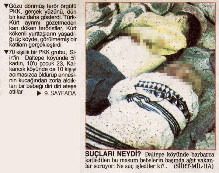 PKK'nın katlettiği bebekler 7
