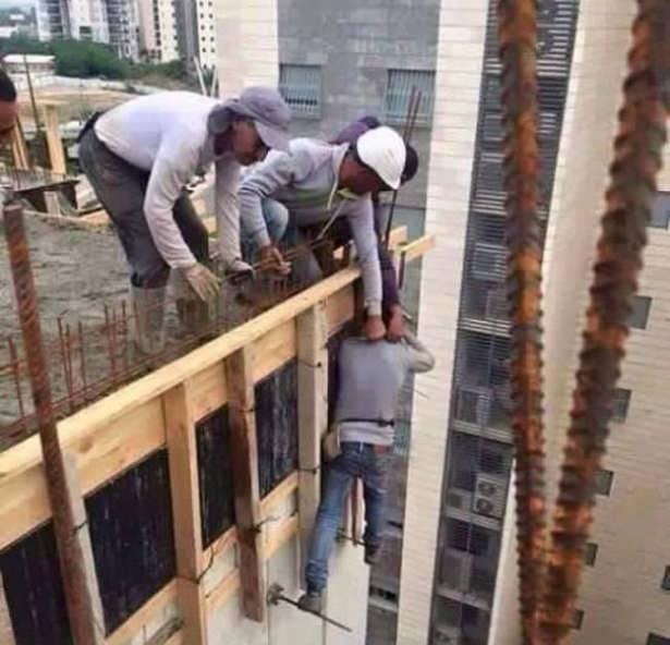 İş güvenliğini yanlış anlayan insanlar 1