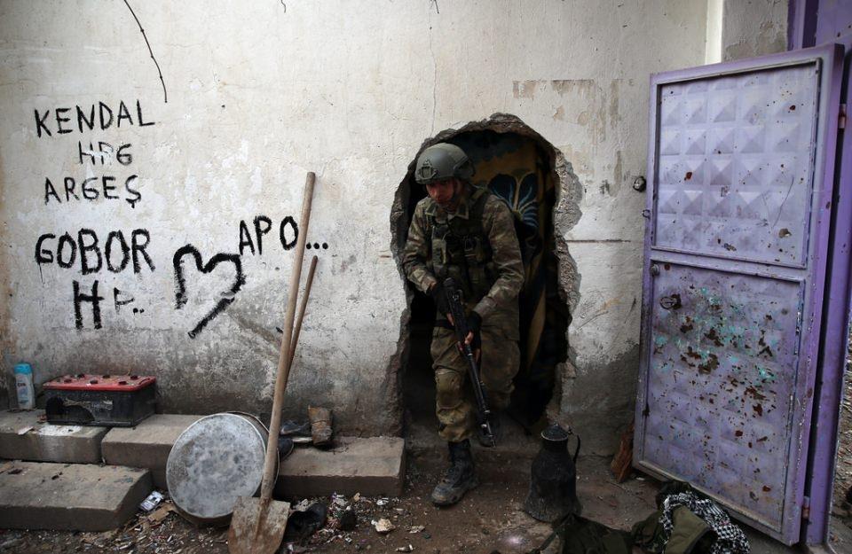 Cizre'de PKK'nın inlerine operasyon 49