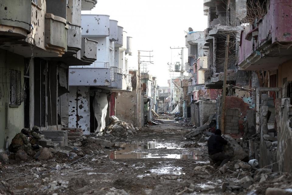 Cizre'de PKK'nın inlerine operasyon 5