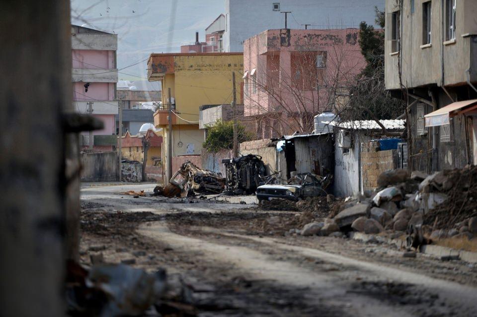 Cizre'de PKK'nın inlerine operasyon 66