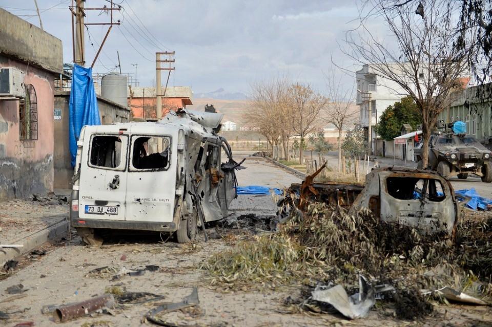 Cizre'de PKK'nın inlerine operasyon 68