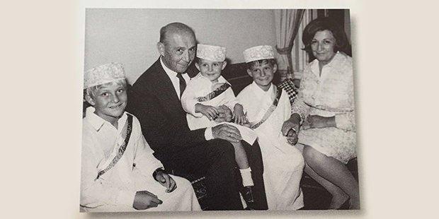 Koç Ailesi'nin albümünden çok özel fotoğraflar 18
