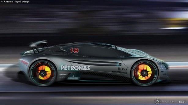 Mercedes'in yeni bombası 10