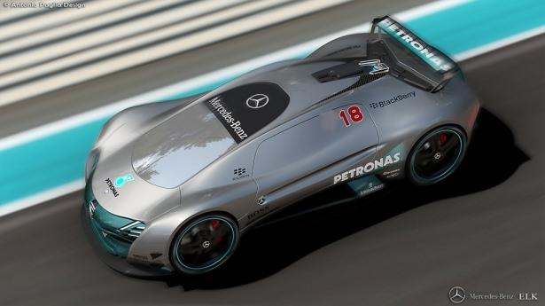 Mercedes'in yeni bombası 9
