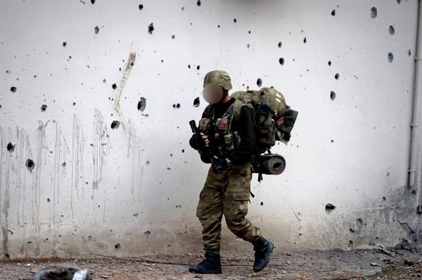 Asker ve polisten karış karış tarama! 16