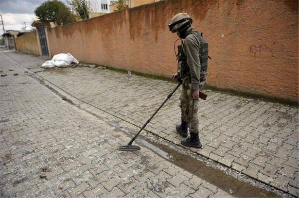 Asker ve polisten karış karış tarama! 2