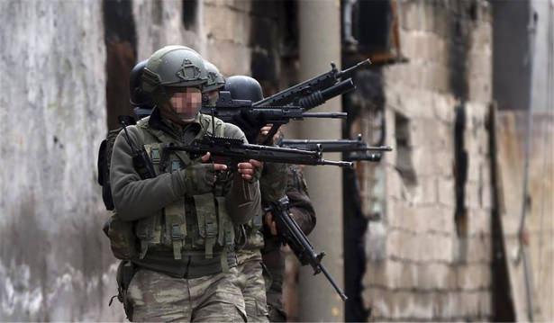 Asker ve polisten karış karış tarama! 24