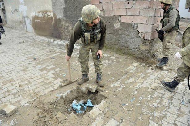 Asker ve polisten karış karış tarama! 3